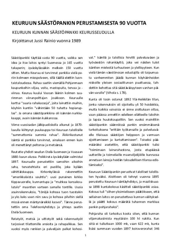 Jussi Rainio Keuruun Säästöpankki 90 vuotta .pdf