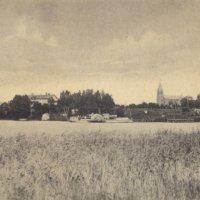 Siipiratasalus Elias Lönnrot pappilan rannassa