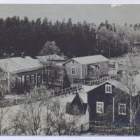 Keuruun vanha apteekki ja kirkonkylää