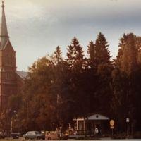 Keuruun kirkko ja marttamökki