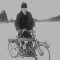Eenok Lahti ja Radco 2 moottoripyörä