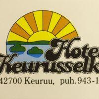 Hotelli Kerusselän tulitikkuetiketti