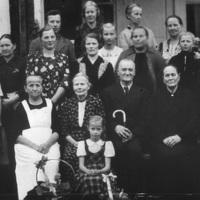 Kallio-Mannilan väkeä vuonna 1940