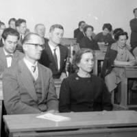 Kansakoululautakunta 1962