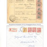 Postitoimipaikkojen leimoja IV
