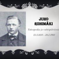 Riihimäki, Juho