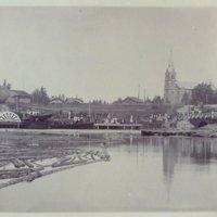 Siipiratasalus Elias Lönnrot Keuruulla pappilan rannassa